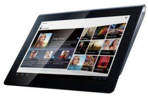 Sony Tablet S con un precio de Rs, 29,990 en India