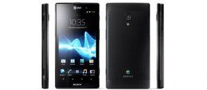 Sony Xperia Ion LTE con pantalla 720p de 4.6 pulgadas y cabezales de cámara de 12 MP para AT&T esta primavera