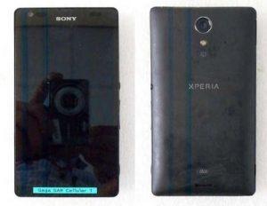 Sony Xperia UL con nuevo diseño filtrado