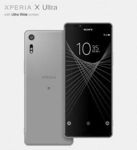 Sony Xperia X Ultra con pantalla de 6.45 pulgadas con superficies de relación de aspecto 21: 9