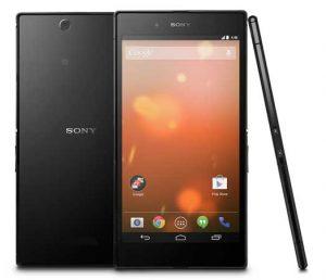 Sony Xperia Z Ultra Google Play Edition con Android 4.4 KitKat disponible por $ 649