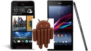 Sony Xperia Z Ultra y HTC Butterfly S reciben Android 4.4 - Actualización del sistema operativo KitKat