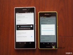 Sony Xperia Z1f supuestamente tiene mejor pantalla que Xperia Z1