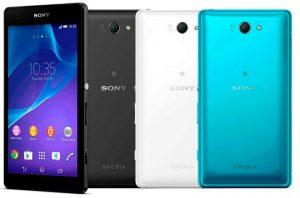 Sony Xperia Z2a con pantalla fHD de 5 pulgadas y Snapdragon 801 anunciado