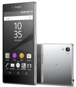 Sony Xperia Z5 Premium con pantalla 4K y escáner de huellas dactilares lanzado en India por Rs.  62990