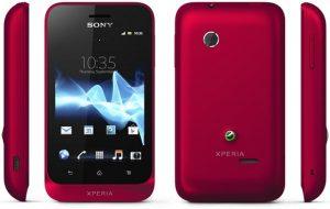 Sony lanzó Xperia tipo y tipodual, teléfonos inteligentes ICS de nivel de entrada