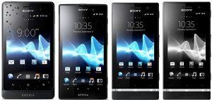 Sony baja el precio de Xperia go, Xperia ion, Xperia P y Xperia U en India
