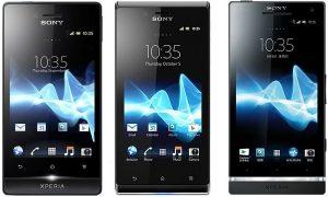 Sony lanza Xperia miro, J y SL en India oficialmente