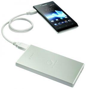 Sony lanza cargadores portátiles USB CP-F1L y CP-F2L en India