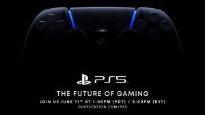 Sony reprograma el evento de PlayStation 5 para el 11 de junio