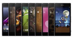 Sony trae temas de Xperia para teléfonos inteligentes Xperia con Android 4.3 o superior