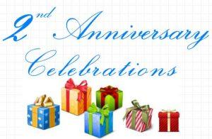 Celebraciones del segundo aniversario: concursos / sorteos próximamente [Now Live]