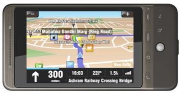 Sorteo MobiGyaan: Software de navegación GPS para teléfonos móviles por valor de Rs.  2183