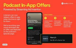 Spotify prueba los anuncios en la aplicación en las páginas de episodios de podcasts