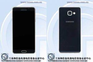 Sucesor del Samsung Galaxy A7 certificado en TENAA