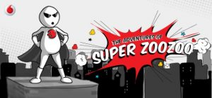 Super serie de cómics Zoozoo lanzada por Vodafone