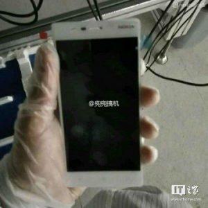 Superficies de teléfonos inteligentes Android de nivel de entrada Nokia E1