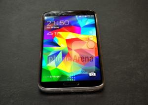 Supuestas imágenes en vivo de la fuga del Galaxy S5 Prime