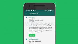Sus copias de seguridad de WhatsApp ya no contarán para la cuota de almacenamiento de Google Drive