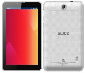 Swipe Slice tableta Android de 7 pulgadas con procesador de doble núcleo lanzado para Rs.  4990