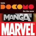 tata-docomo-marvel-manga-comics