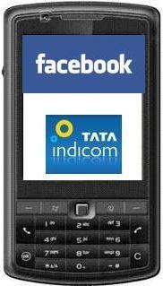 TATA Indicom trae Facebook en SMS