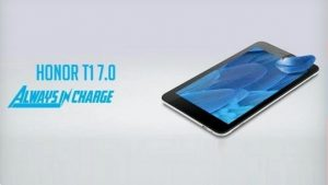 Tableta Honor T1 7.0 con batería de 4100 mAh lanzada en India por ₹ 6999