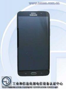 Tableta Samsung SM-T2558 de 7 pulgadas con biseles estrechos en China