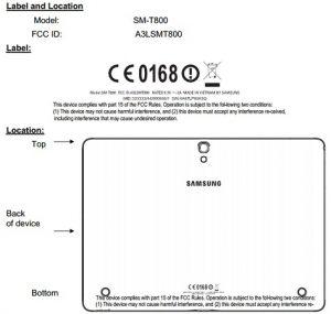 Tableta Samsung con pantalla de 10,5 pulgadas y procesador Exynos octa core visto en FCC