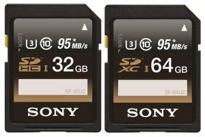 Tarjetas SD Sony UHS-1 U3 lanzadas en India a partir de Rs.  5339