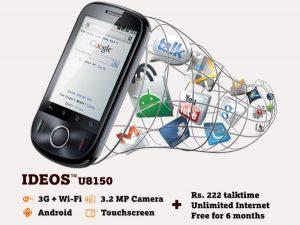 Tata DoCoMo permite a los fanáticos decidir el precio del teléfono IDEOS