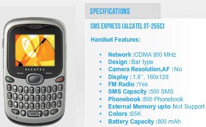 Tata Indicom lanza la oferta 'SMS Express' para clientes de prepago