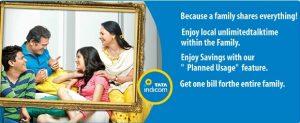 Tata Teleservices lanza el plan familiar, ofrece llamadas CUG locales gratuitas ilimitadas