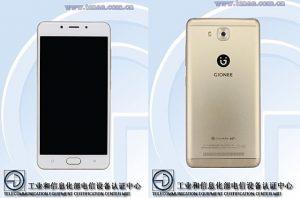 Teléfono inteligente Gionee F5L con superficies de visualización 5.3 HD