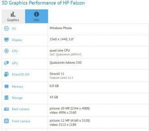Teléfono inteligente Windows 10 con procesador Snapdragon 820 visto en los puntos de referencia