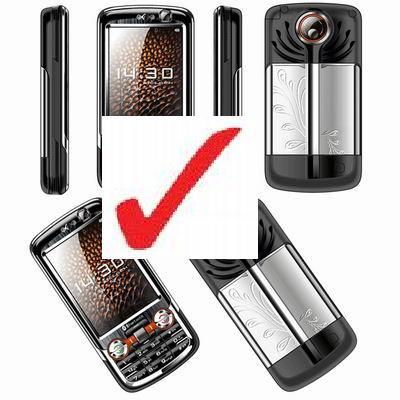 Teléfonos fabricados en China para obtener un código de identificación global