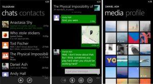 Telegram Messenger para Windows Phone ya está disponible