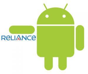 Todos los teléfonos inteligentes con Android vienen incluidos con la conexión de Reliance en India