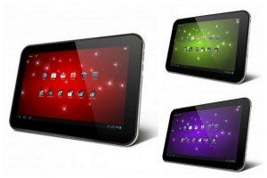 Toshiba lanza una tableta Excite gigante de 13,3 pulgadas, con Excite 7.7 y Excite 10
