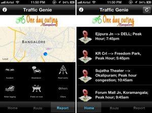 Traffic Genie está aquí para salvarlo de los problemas de tráfico de Bangalore [App]