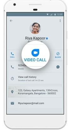 integración de trucaller-google-duo