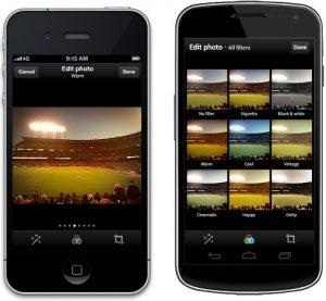 Twitter llega a Instagram al llevar filtros de fotos a su aplicación para Android y iPhone