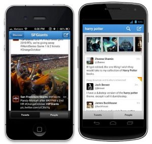 Twitter para Android e iOS actualizado con nuevas funciones de búsqueda o descubrimiento