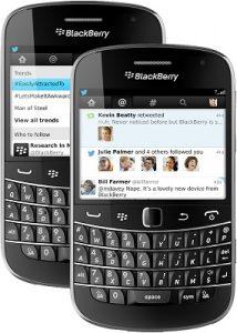 Twitter para BlackBerry actualizado a v4.0, trae una interfaz de usuario renovada