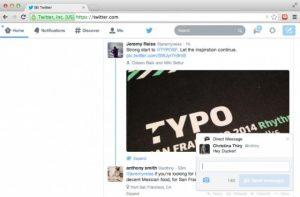 Twitter presenta notificaciones interactivas en la web