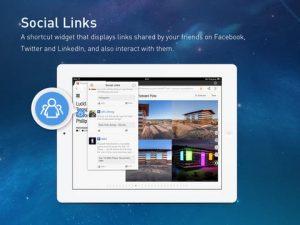UC Browser + HD 2.3 para iPad actualizado con enlaces sociales y reproductor de video flotante