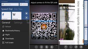 UC Browser actualizado a v2.6 para Windows Phone, trae un nuevo menú y más