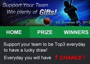 UC Browser lanza Ultimate Cricket 2013 para IPL