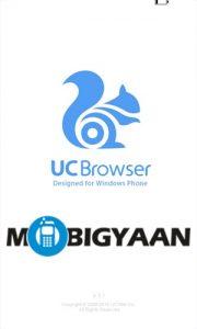 UC Browser para teléfonos con Windows actualizado con funciones para compartir Wi-Fi y Pin to Speed Dial