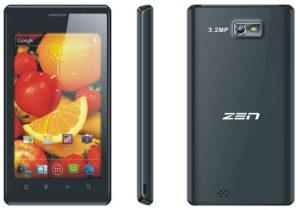 Ultraphone U4 Zen Dual-SIM con pantalla de 4.3 pulgadas, Android 2.3, lanzamiento de cámara de 3.2 MP